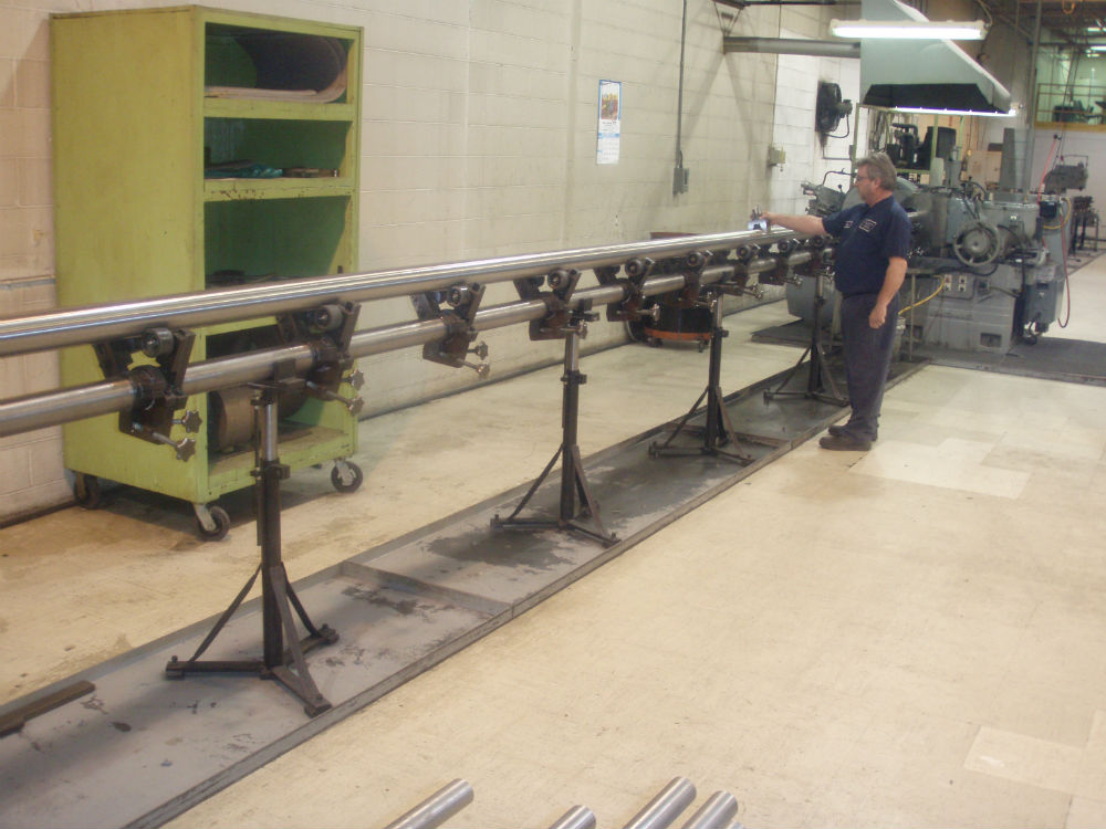 centerless grinding long bar
